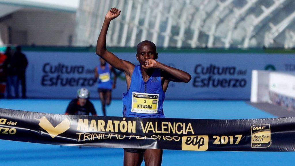 Doping: squalificato Sammy Kiprop Kitwara, vincitore della Maratona di Valencia con PB di 2:05:15