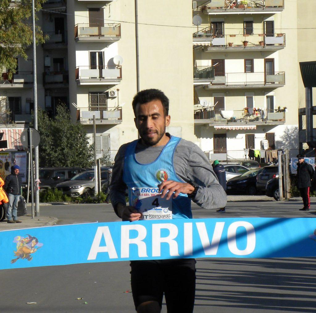 """Risultati """" Trofeo della Befana"""" s'impongono i magrebini Boufars e Hanane. Per i Team festeggia la Podistica Frattese."""