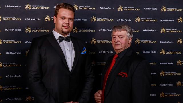Il discobolo Daniel Stahl nominato sportivo svedese dell'anno per il secondo anno consecutivo