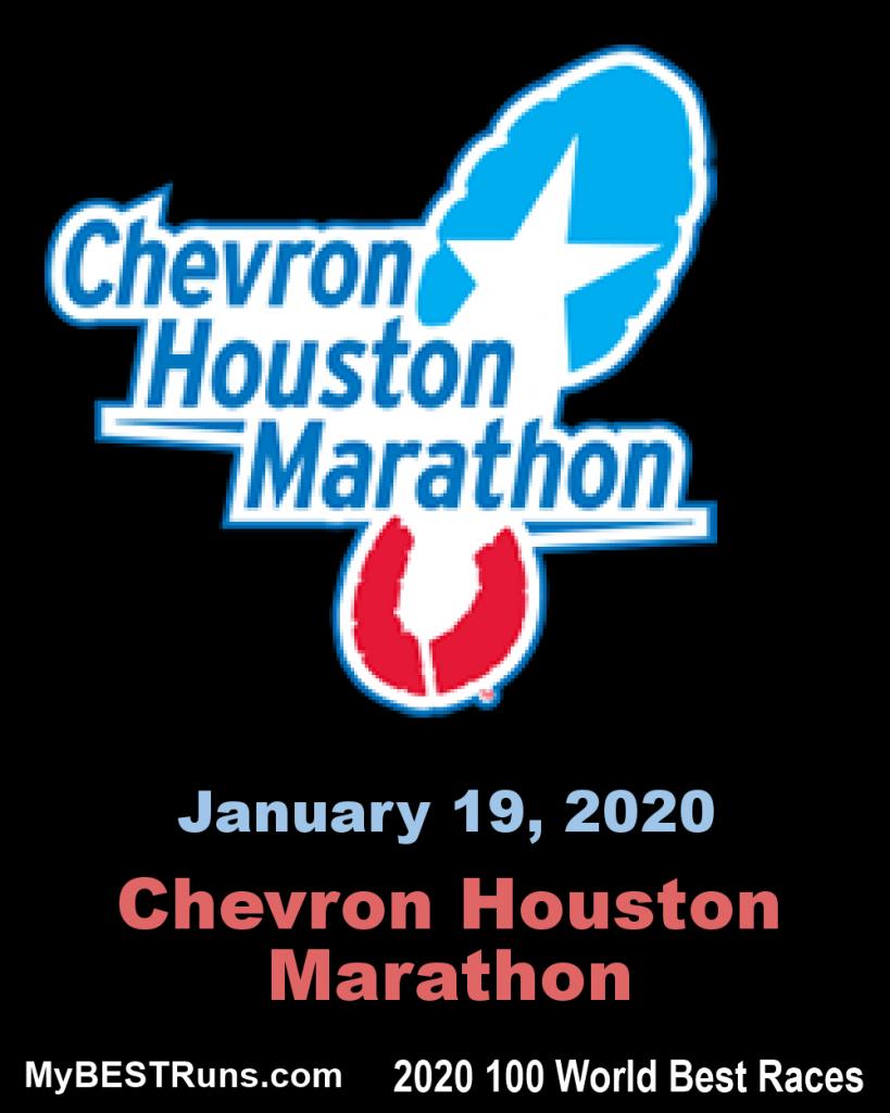 Annunciato l'eccellente cast  della Houston Marathon 2020