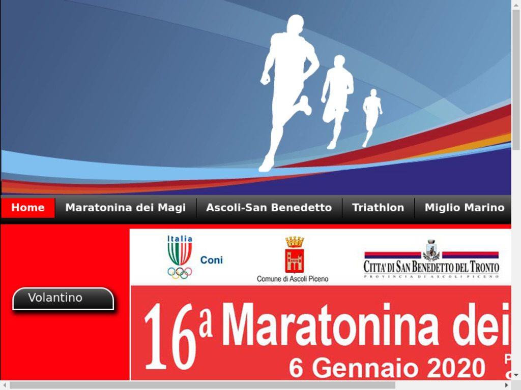 Zamponi e Mancini vincono la  Maratonina dei Magi di San Benedetto, polemiche per  auto e moto rimosse