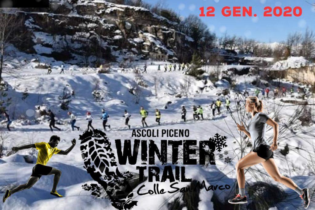 Winter Trail Colle San Marco, il 12 gennaio di corsa in alta montagna