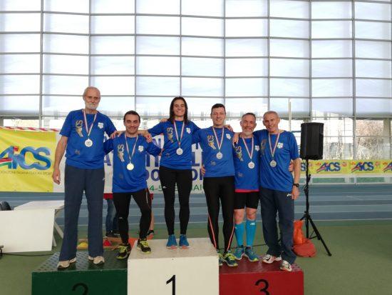 Atleti NAF ai Campionati AICS Parma