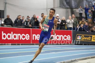 Risultati New Balance Indoor Grand Prix: Donavan Brazier domina nei 600 metri