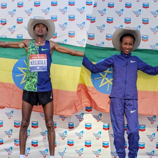 Risultati Houston Marathon: doppietta etiope, la classifica