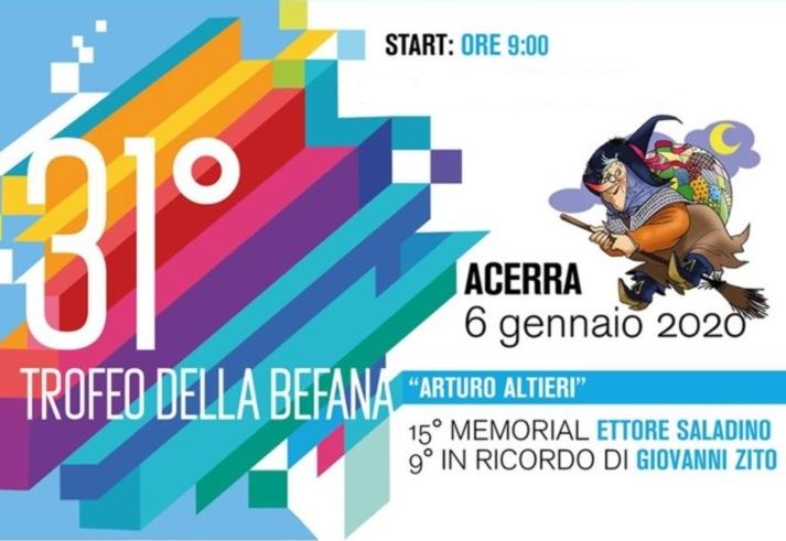"""PODISMO: la 10 Km  """"Trofeo della Befana"""""""