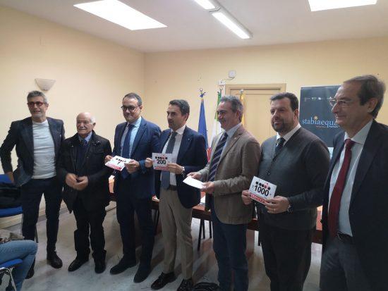 Presentata la mezza maratona Stabiaequa 2020, IL VIDEO