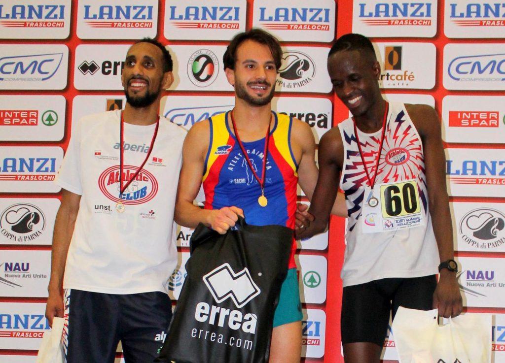 Il 2020 della Sacmi Avis parte col botto: Mazzanti e Ricciardi campioni regionali indoor