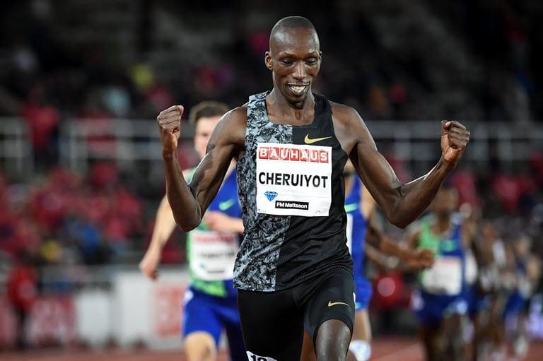 """""""Batterò il record mondiale di Hicham El Guerrouj"""", parola di  Timothy Cheruiyot, campione del mondo dei 1.500 metri"""