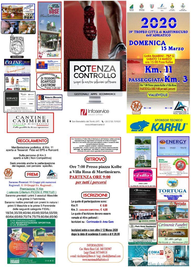 Trofeo Città di Martinsicuro, appuntamento al 15 marzo