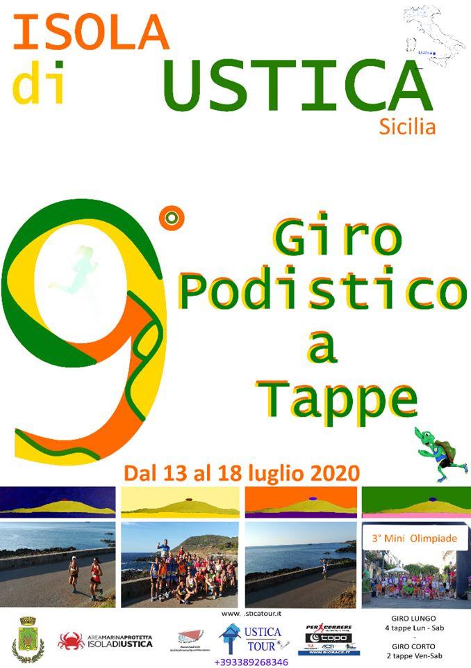 Podismo. Fioccano le prime iscrizioni al 9° Giro Podistico a Tappe di Ustica Trofeo AMP