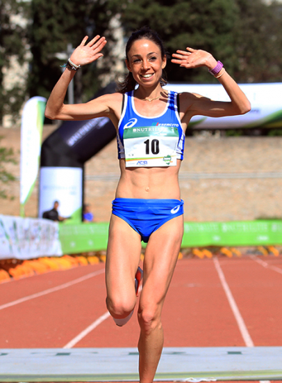 Veronica Inglese al rientro,  conquista un ottimo secondo posto nella  Corsa di Miguel