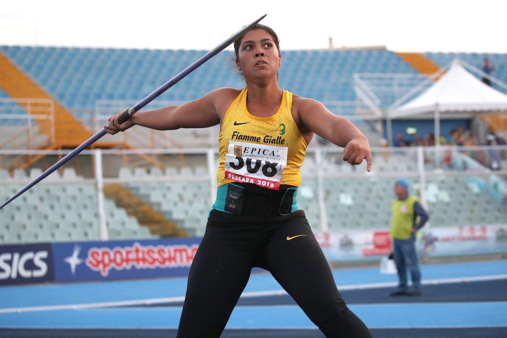 Regionali lanci: Carolina Visca parte bene con m.55,20 nel giavellotto