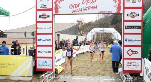 Federica Del Buono è tornata in gara ieri a Vittorio Veneto
