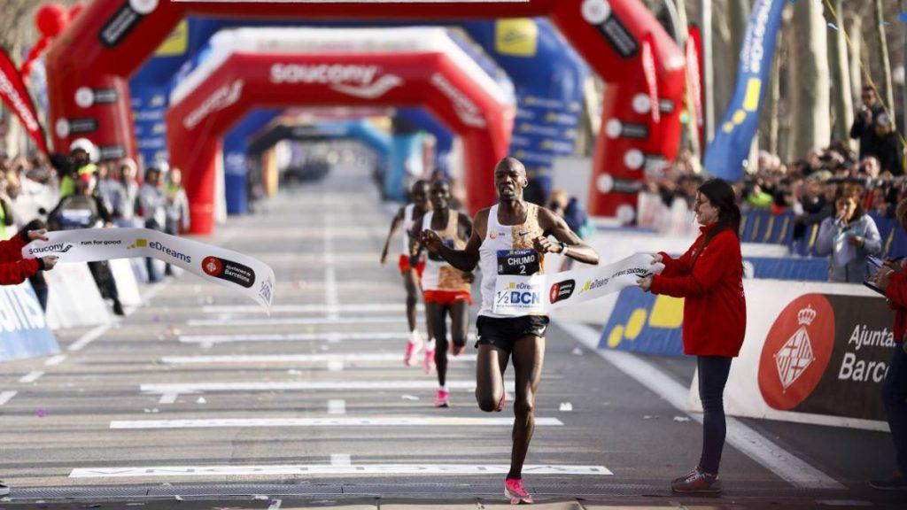 Chumo e Bekere vincono la mezza maratona di Barcellona