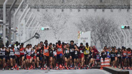 Coronavirus: la maratona di Tokyo