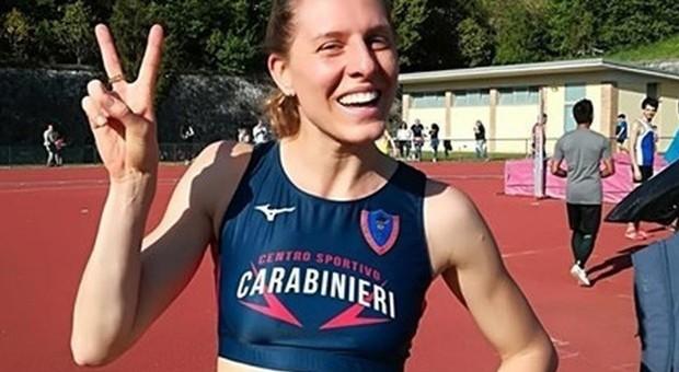 Assoluti Ancona: Elena Vallortigara torna in gara nell'alto e centra un ottimo 1,96