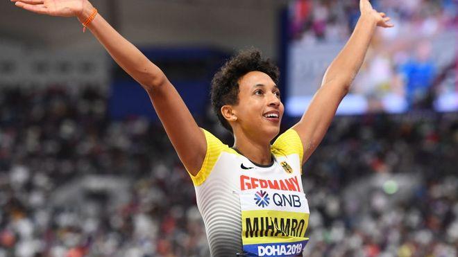 A Berlino la tedesca Malaika Mihambo realizza la miglior prestazione mondiale nel lungo con m. 7,07