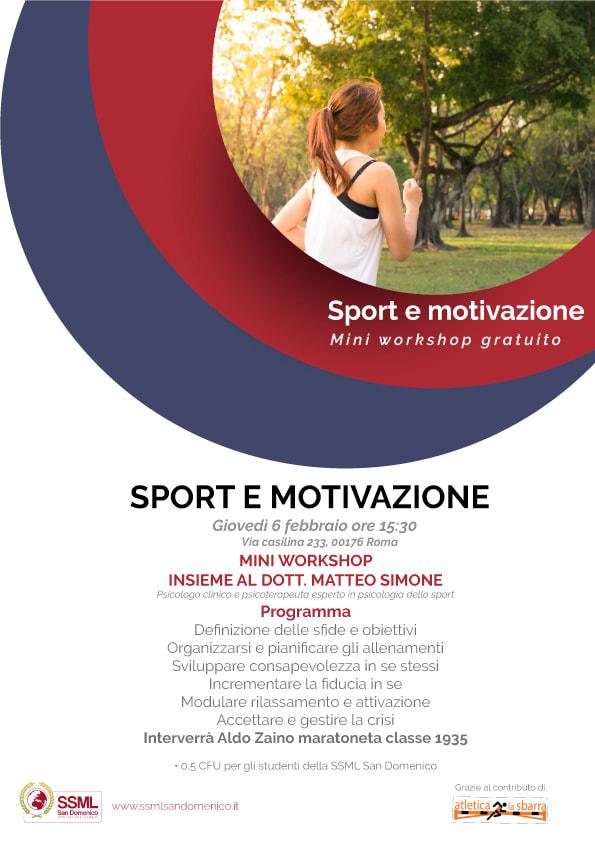 Mini workshop gratuito su Sport e Motivazione Resilienza: Più dura è la lotta, più grande il trionfo - di  Matteo SIMONE