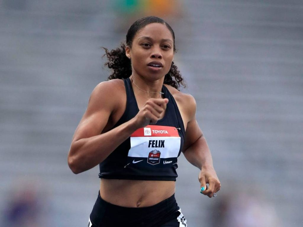 Il VIDEO di Allyson Felix vincente  nei 60m indoor al Power Five Invitational