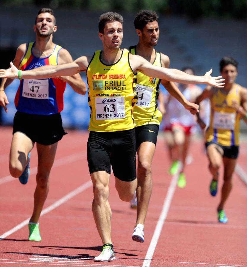 Risultati Ostrava: Enrico Riccobon straccia il PB nei 1500 metri di quasi 2 secondi