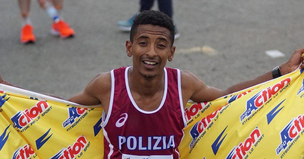 Grandissimo record italiano di Eyob Faniel nella Maratona a Siviglia!