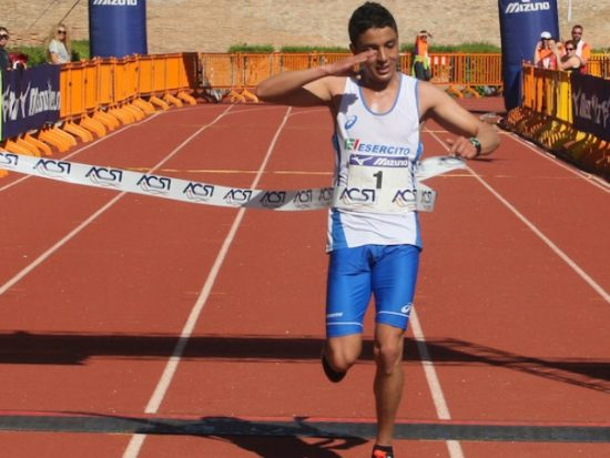 L' azzurro Said El Otmani  vince la Mezza Maratona delle Due Perle