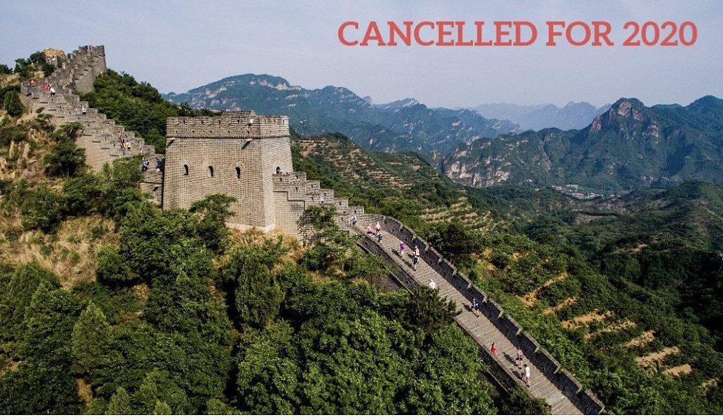 Coronavirus: in Cina, annullata anche la Great Wall Marathon del 2020