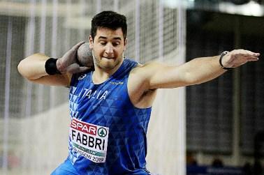 Risultati Ostrava: Leonardo Fabbri centra il personale con 21,11 indoor nel peso