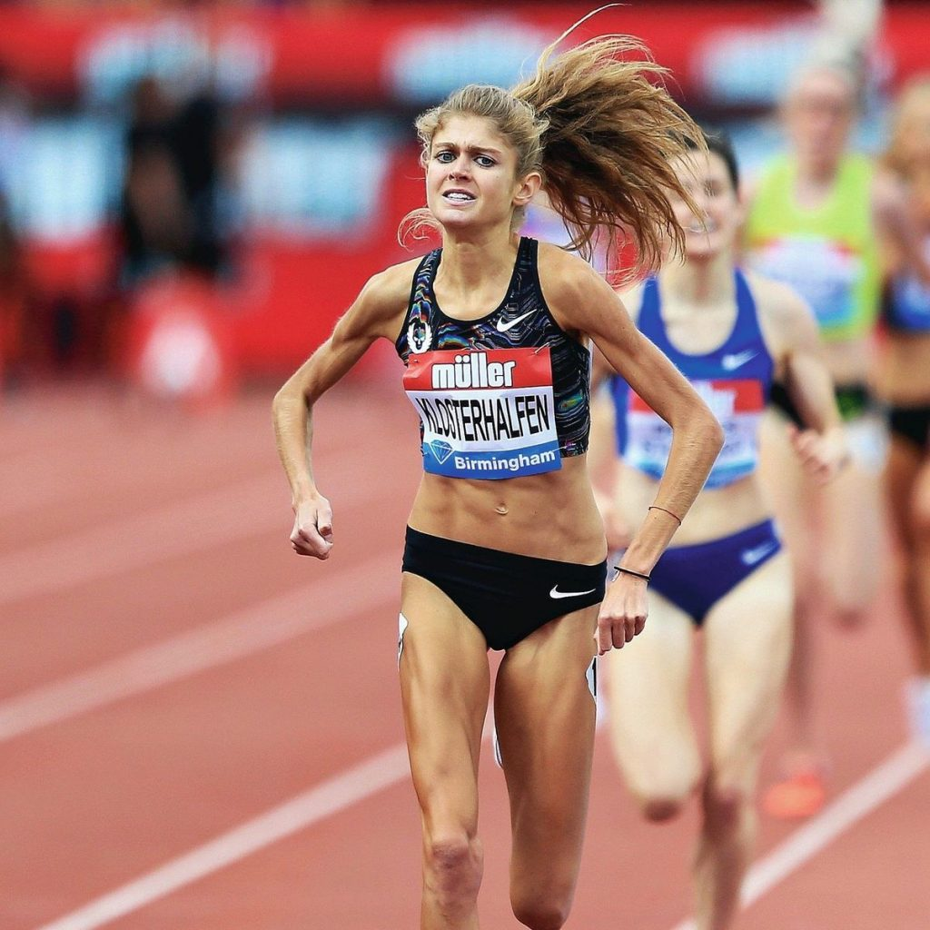 Konstanze Klosterhalfen straccia il record europeo nei 5000 m indoor a Boston