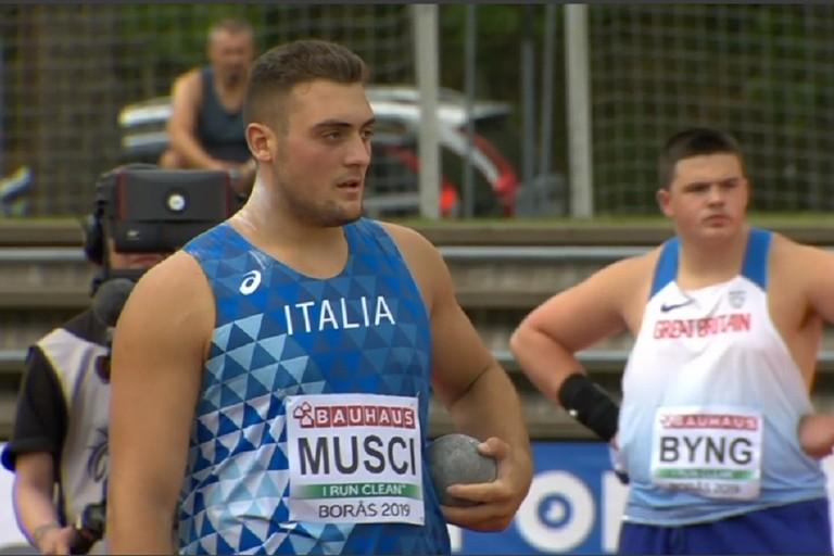 Tricolori U20 indoor Ancona: Carmelo Musci sempre a caccia del record nel getto del peso-LA DIRETTA STREAMING