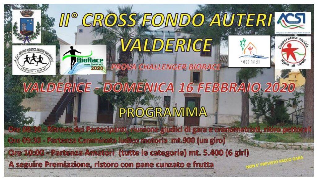 Nell' incantevole location di Fondo Auteri a Valderice (TP) , domenica 16 febbraio 2020, si corre il BioRace