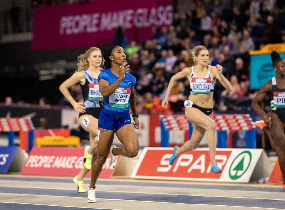 Shelly-Ann Fraser-Pryce domina i 60 metri a Glasgow