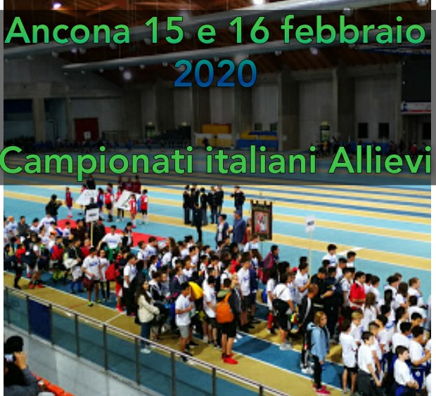 Tricolori Allievi Ancona: ecco i protagonisti del weekend-La diretta streaming