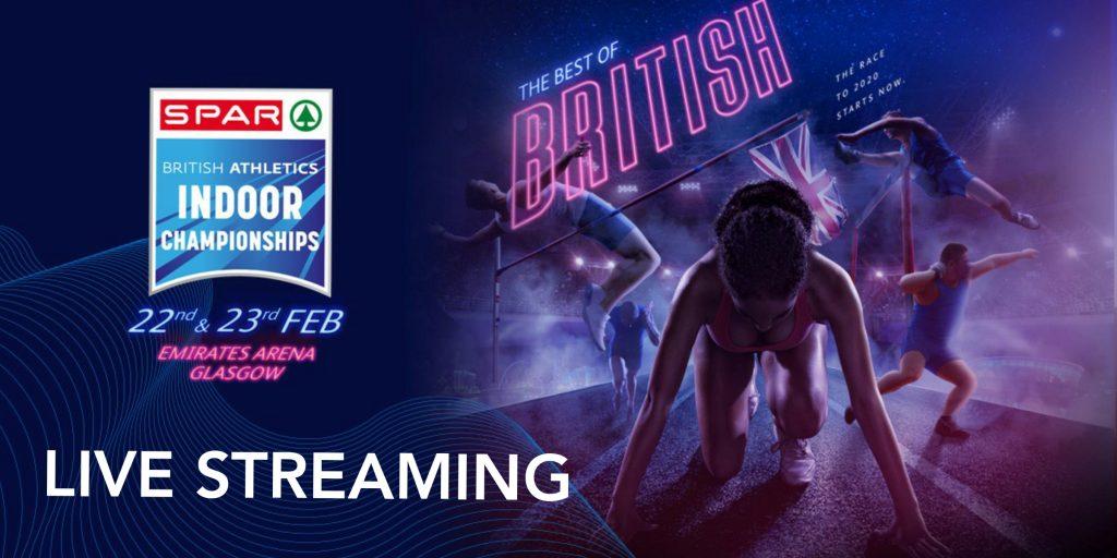 Live streaming Campionati britannici indoor 22 e 23 febbraio: ecco i protagonisti