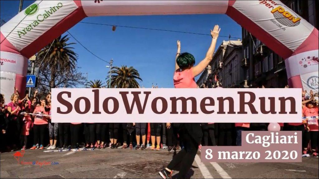 Rinviata la SoloWomenRun  al 6 giugno