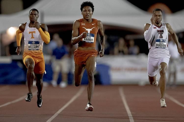 Il video di Micaiah Harris che corre i 200m in  20.49,  miglior prestazione mondiale al Razorback Invitational