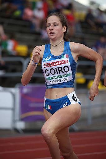 Eloisa Coiro in Irlanda manca di un soffio il PB sugli 800 metri