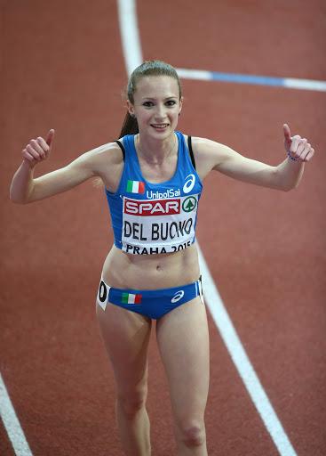 Federica Del Buono ritorna in gara sui 1500 metri indoor a Padova