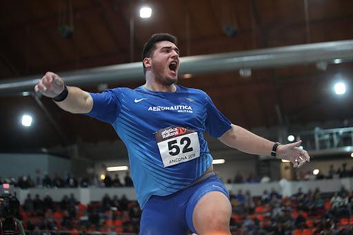 Assoluti indoor Ancona: Fabbri avvicina ancora il suo record italiano nel peso