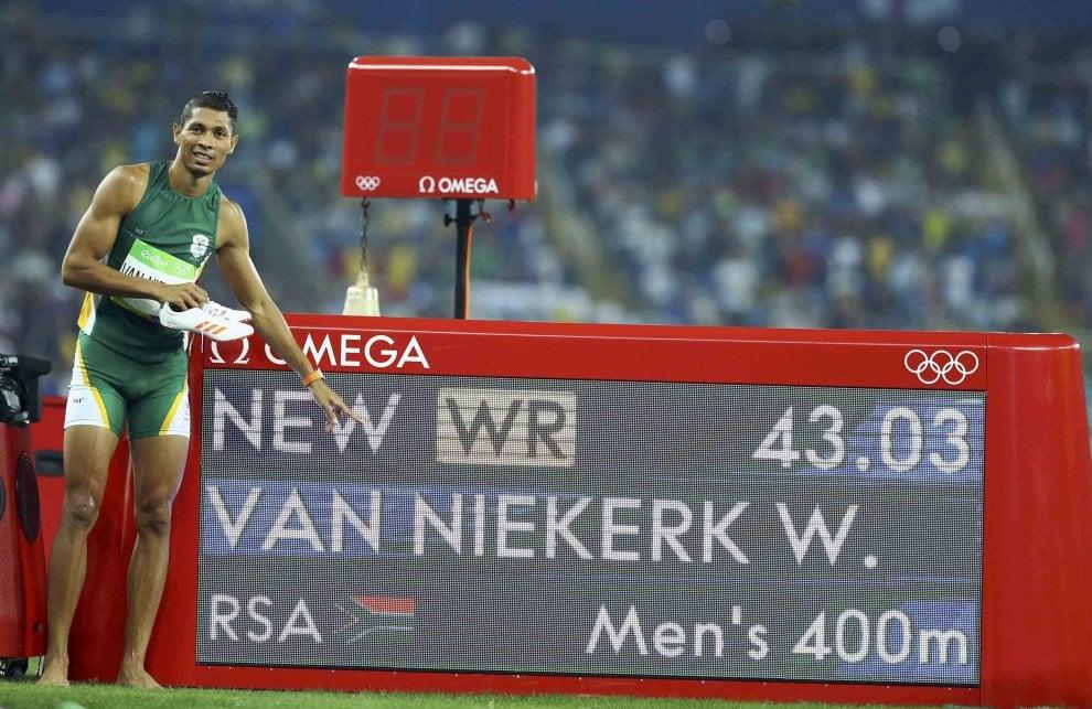 Le 10 gare senza tempo: il record mondiale di Wade Van Niekerk dall'8^ corsia- IL VIDEO