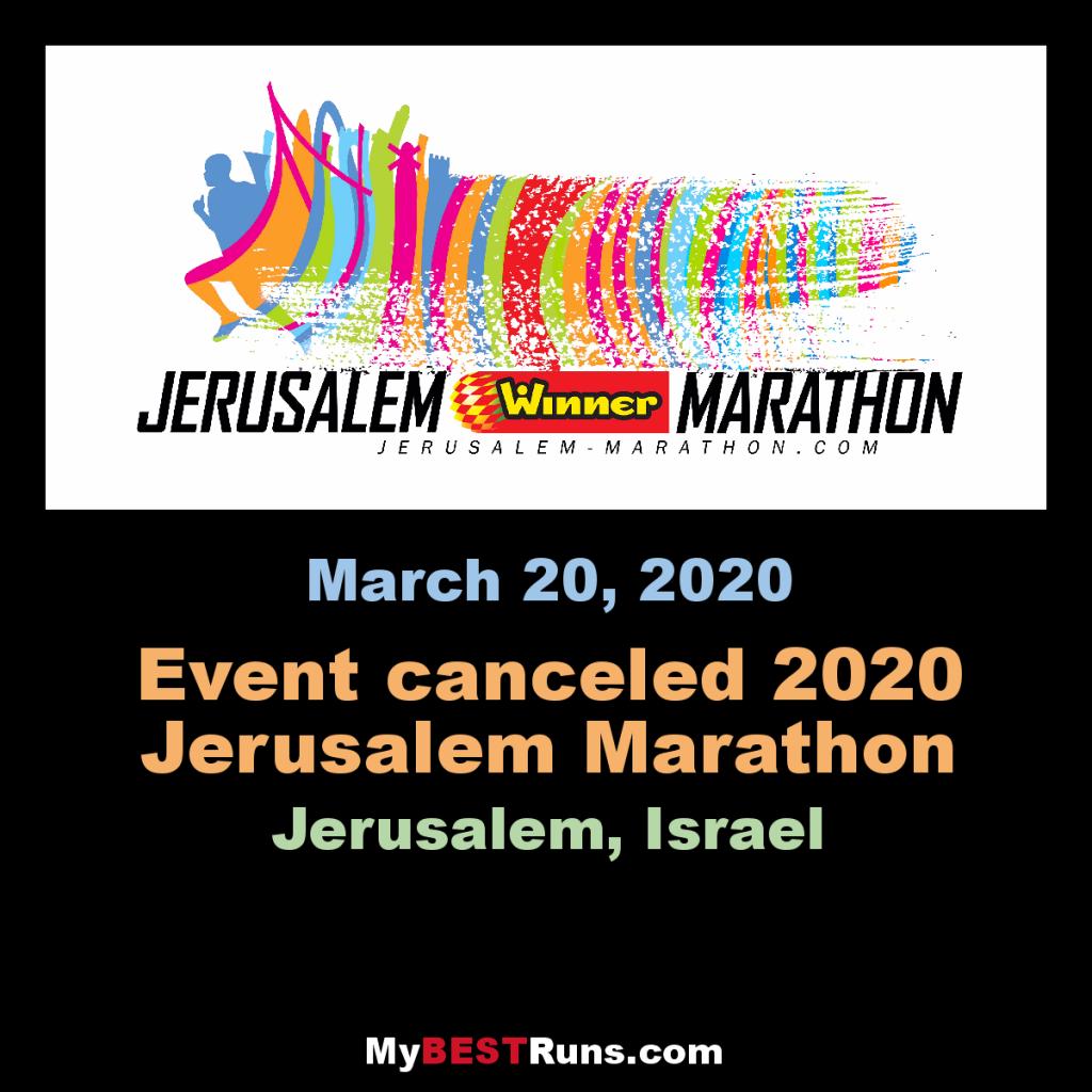 Annullata la Jerusalem Marathon  a causa del coronavirus