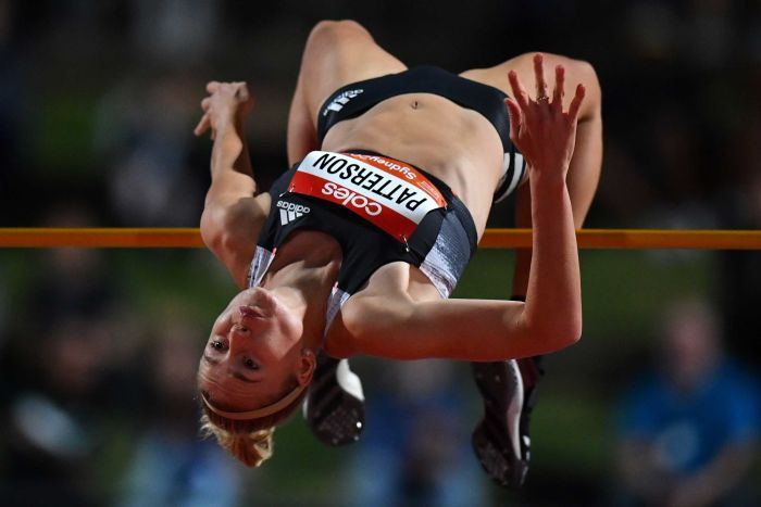 Record Australiano di  Eleanor Patterson nel salto in alto con 1,99