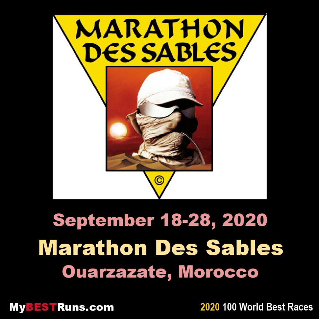 La Marathon des Sables è stata rinviata a causa del coronavirus