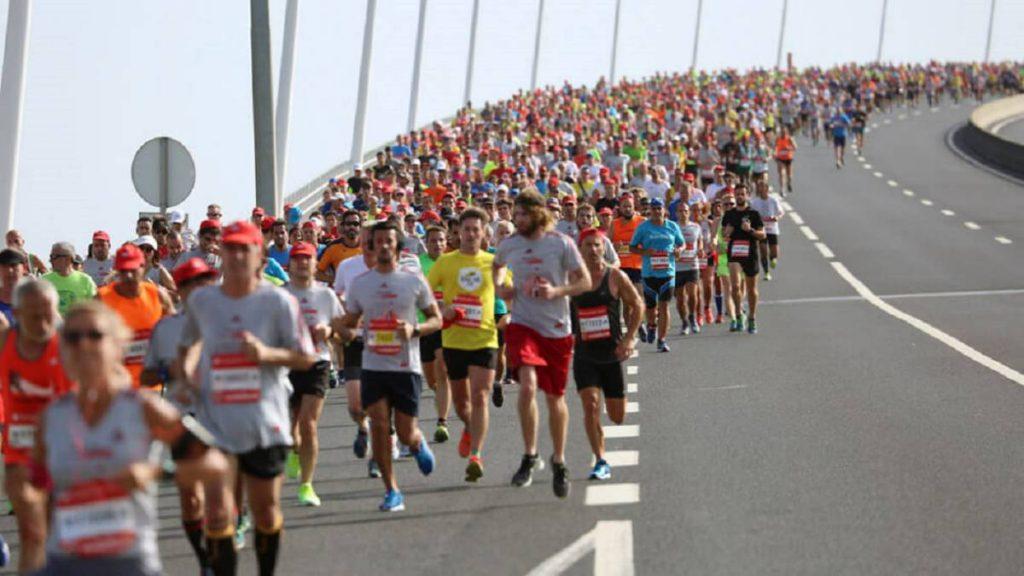 La mezza maratona di Lisbona, rimandata a settembre