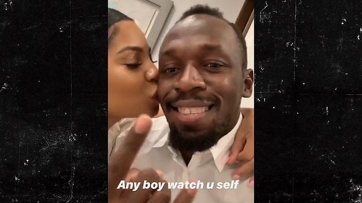 Usain Bolt organizza una mega festa per annunciare l'arrivo della figlia