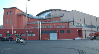 Coronavirus: al Palaindoor di Ancona 100 posti letto di terapia intensiva