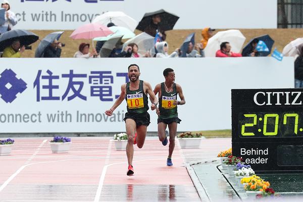 Domani, Domenica 8 marzo Wilson Kipsang andrà all'assalto del record della Lake Biwa Marathon in Giappone