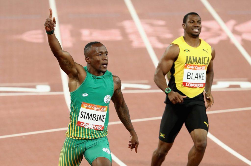 Grandissimo tempo di Akani Simbine nei 100 metri in Sudafrica