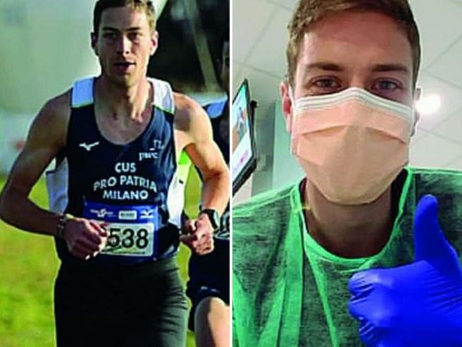 Coronavirus: colpito atleta 29enne figlio della giornalista Rai Tiziana Ferrario che racconta quei terribili momenti